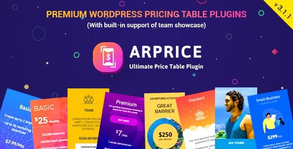 قیمت گذاری کردن در وردپرس با افزونه ARPrice v3.1.1