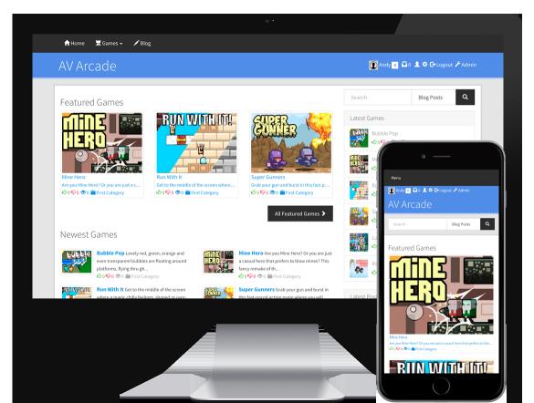 اسکریپت بازی آنلاین AV Arcade v6.0.10