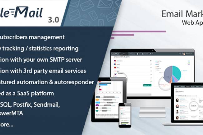 اسکریپت رایگان ایمیل مارکتینگ حرفه ای Acelle v3.0.17