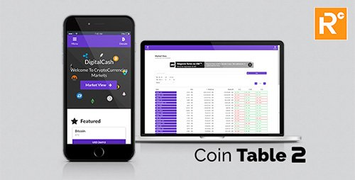 اسکریپت نمایش و مقایسه ارزش ارز های جهانی Coin Table v1.0
