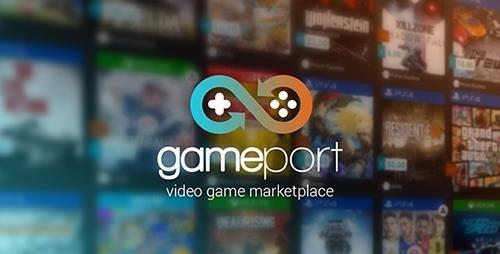 اسکریپت فروشگاه بازی GamePort v1.2