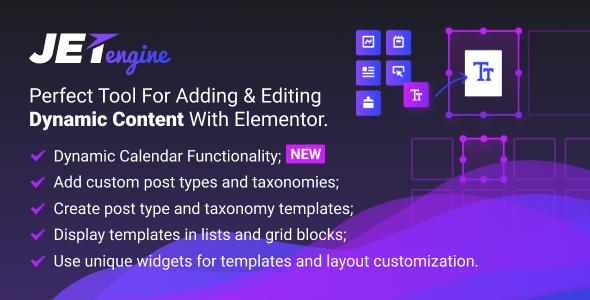 افزودن و ویرایش محتوای داینامیک با افزونه JetEngine v1.2.5
