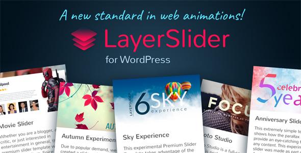 دانلود افزونه ایجاد اسلایدر وردپرس LayerSlider v6.5.5