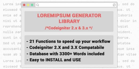 ایجاد متن ساختی برای طراحان  Loremipsum v1.0