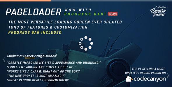 افزونه لودینگ قبل از باز شدن سایت PageLoader v3.3
