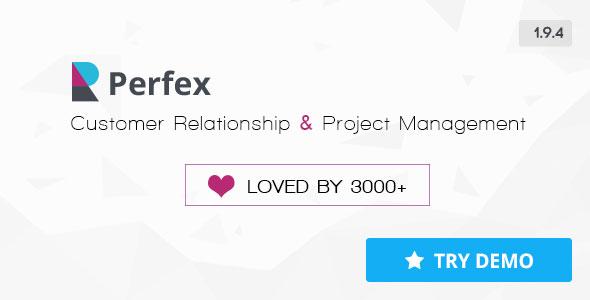 اسکریپت پشتیبانی و مدیریت کاربران  Perfex v1.9.4