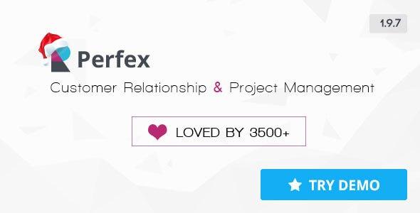 اسکریپت پشتیبانی و مدیریت کاربران  Perfex v1.9.6