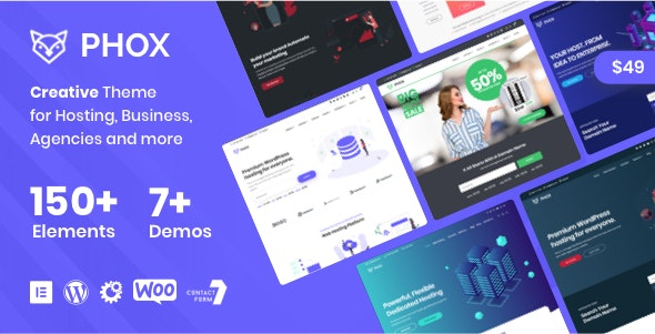 دانلود قالب هاستینگ Phox v1.6.8 – Hosting WordPress & WHMCS Theme