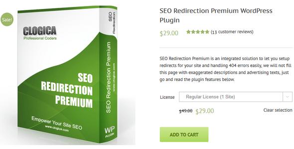 دانلود افزونه ریدایرکت حرفه ای SEO Redirection Premium v2.30