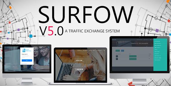 اسکریپت تبادل بازدید Surfow v5.0