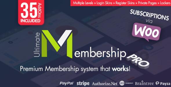 افزونه فارسی  عضویت ویژه Ultimate Membership Pro v6.0