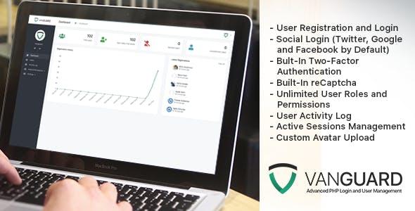 اسکریپت مدیریت کاربران Vanguard v4.0.0