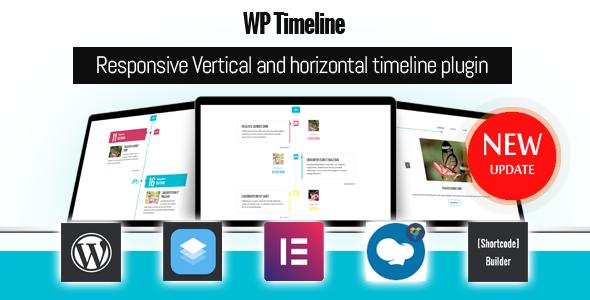 افزونه تایم لاین وردپرس WP Timeline v3.2.1