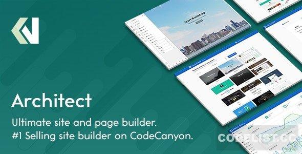 اسکریپت طراحی سایت آنلاین Architect v2.2.1 – HTML and Site Builder