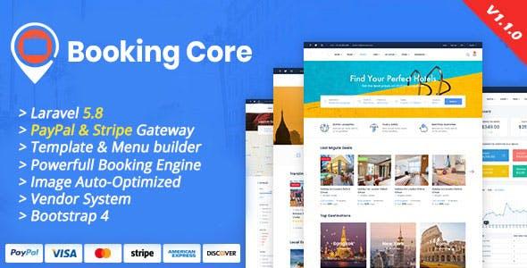 اسکریپت رزرواسیون آژانس مسافرتی و هتل و .. Booking Core v1.1.0