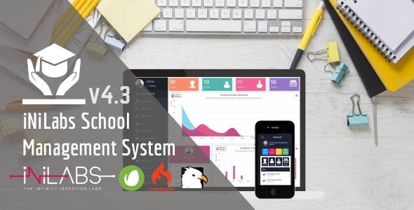 اسکریپت برای طراحی مدیریت مدارس Inilabs School Express v4.3