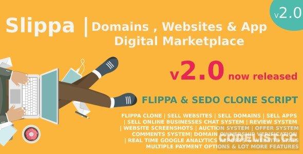ایجاد بازار دیجیتال فروش دامنه  و هاست Slippa v2.0