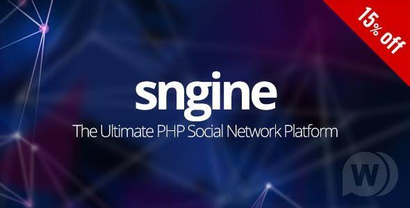 دانلود رایگان اسکریپت شبکه اجتماعی Sngine v2.5.10