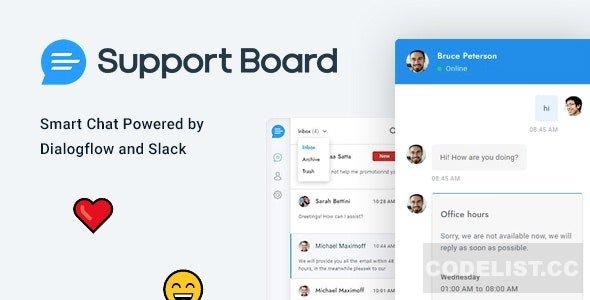 افزونه وردپرس پشتیبانی آنلاین Support Board v3.2.1