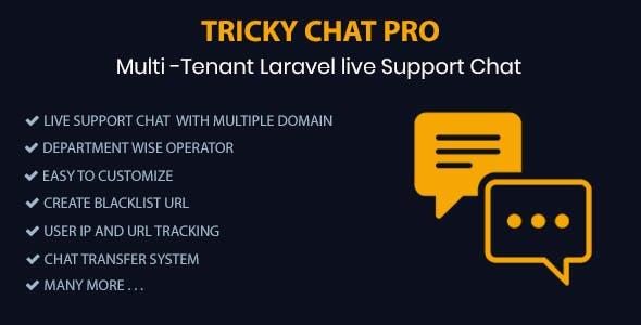 اسکریپت پشتیبانی و چت آنلاین Tricky Chat Pro
