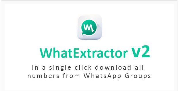 بک آپ از شماره های واتساپ WhatExtractor v2.0.0 - WhatsApp Contacts Extractor