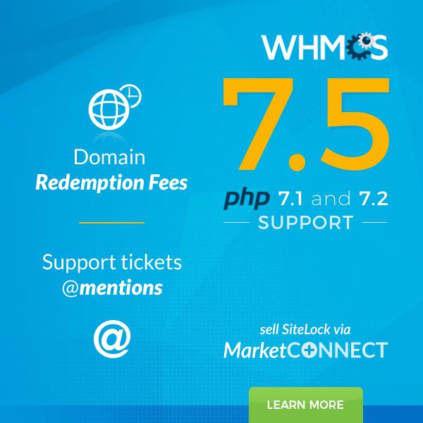 اسکریپت نال مدیریت هاستینگ WHMCS 7.5.1 Nulled