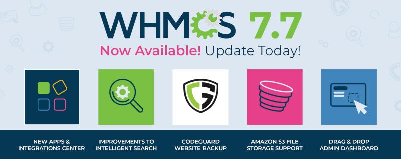 اسکریپت مدیریت هاستینگ whmcs 7.8.0 release  Nulled