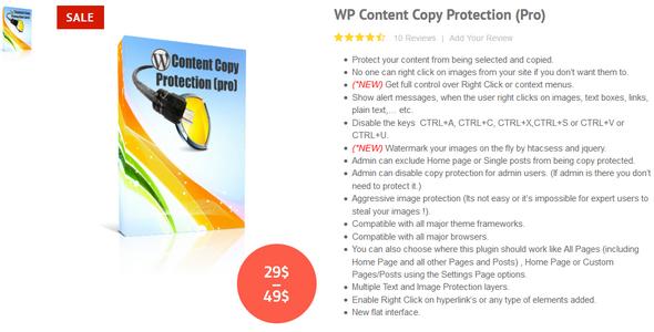 افزونه محافظت از مطالب وردپرس WP Content Copy Protection Pro v6.9.2